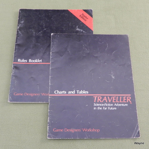 Image for RULES BOOKLET & CHARTS AND TABLES (Traveller: Starter Edition)