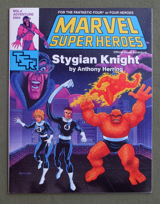 Image for Stygian Knight (Marvel Super Heroes Module MSL4)