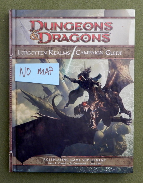 Image for Forgotten Realms Campaign Guide (Dungeons & Dragons) - NO MAP
