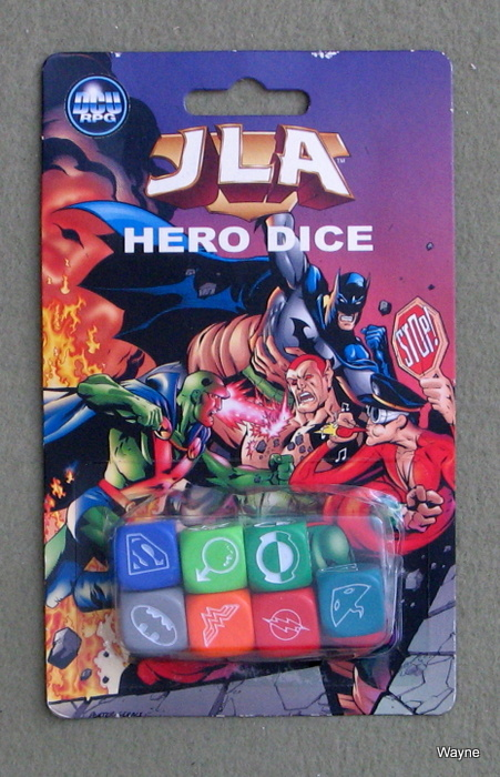 Image for JLA Hero Dice (DC Universe Roleplaying Game)