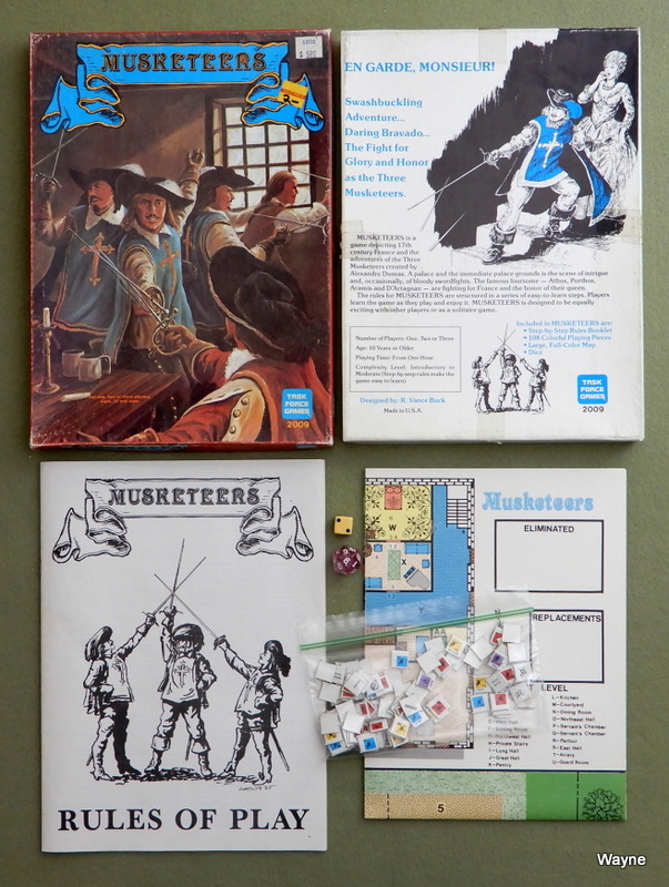 Image for Musketeers: A Game of 17th Century France