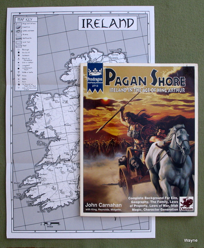 Image for Pagan Shore: Ireland in the Age of King Arthur (Pendragon Roleplaying Adventure)