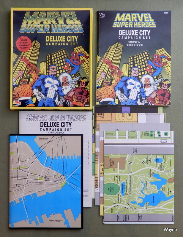 Image for Deluxe City Campaign Set (Marvel Super Heroes)