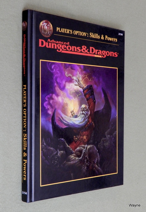 Image for Player's Option: Skills & Powers (Advanced Dungeons & Dragons, 2nd Edition, Revised)