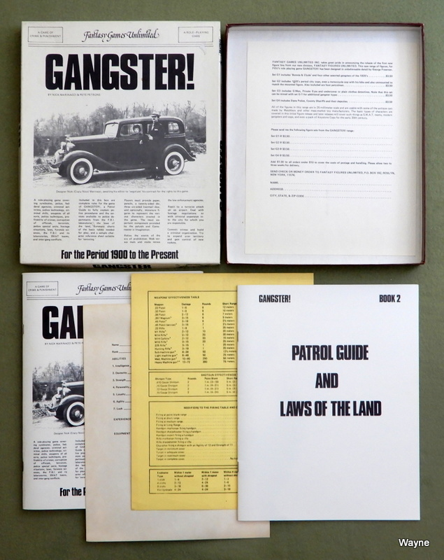 Gangster! - A Game of Crime and Punishment