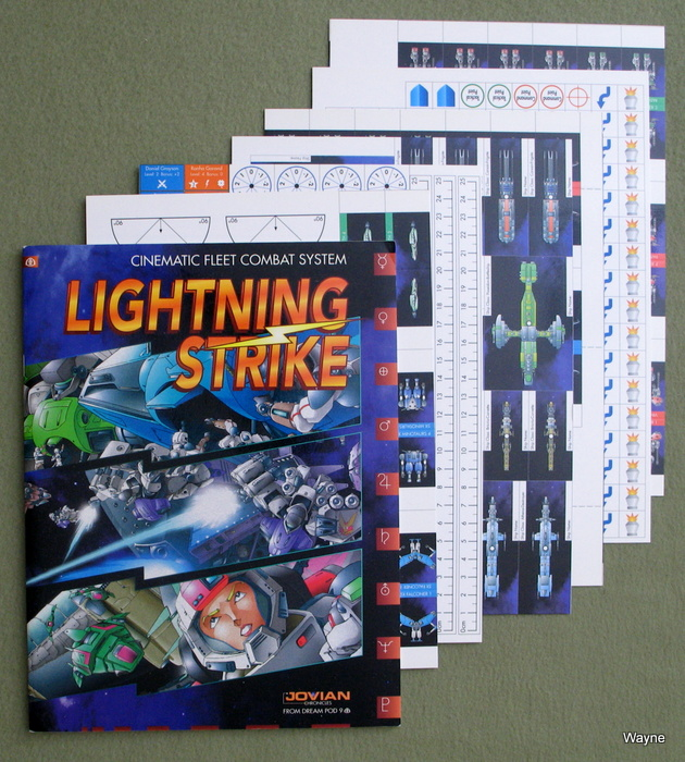 Image for Lightning Strike: Cinematic Fleet Combat System (Jovian Chronicles)