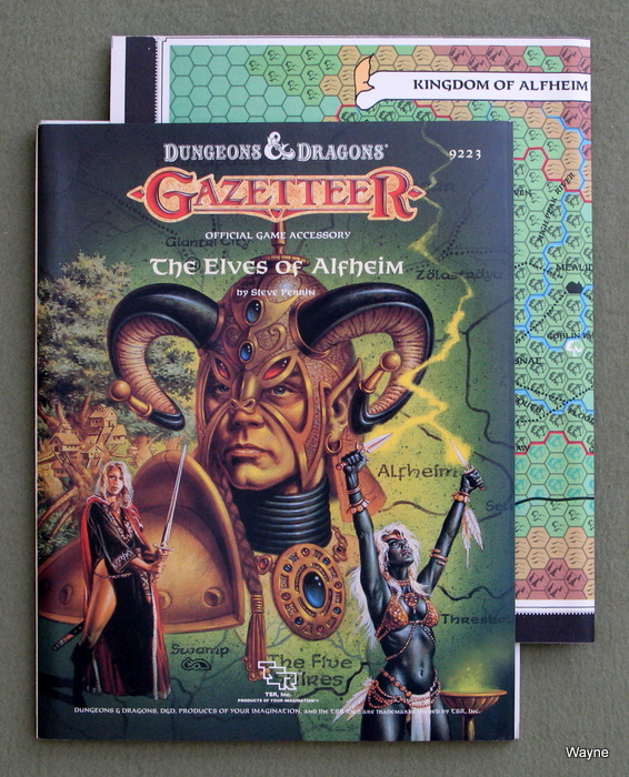 Image for The Elves of Alfheim (Dungeons & Dragons: Gazetteer GAZ5)