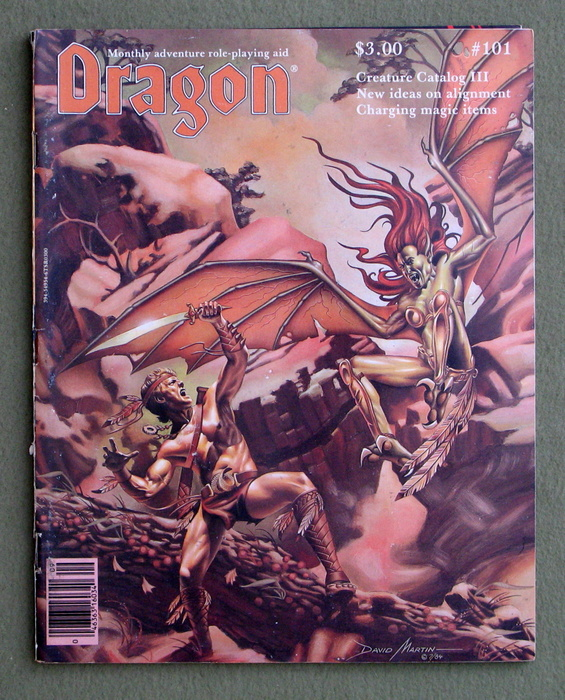 Image for Dragon Magazine, Issue 101 - PLAY COPY
