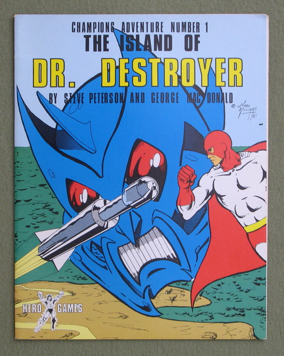 Image for The Island of Dr. Destroyer (Champions Adventure Number 1)