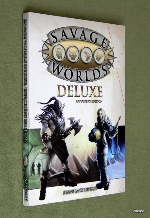 Image for Savage Worlds Deluxe: Explorer's Edition