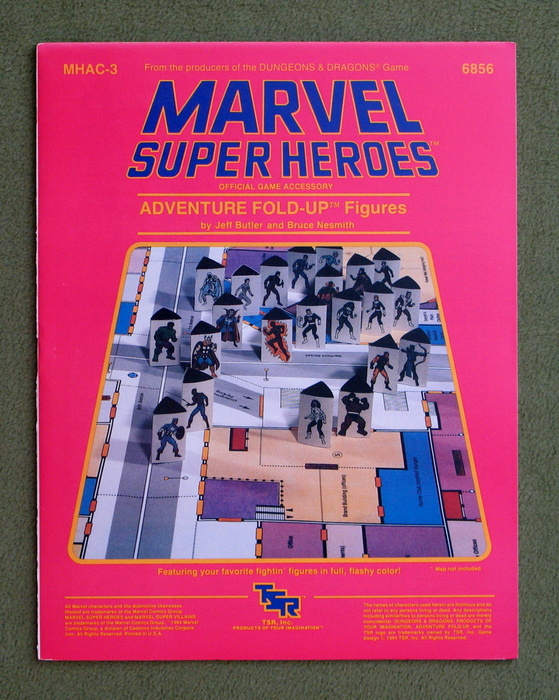Image for Adventure Fold-up Figures (Marvel Super Heroes accessory MHAC3)
