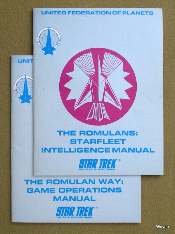 Image for The Romulans (Star Trek Role Playing Game) [Two Book Set]