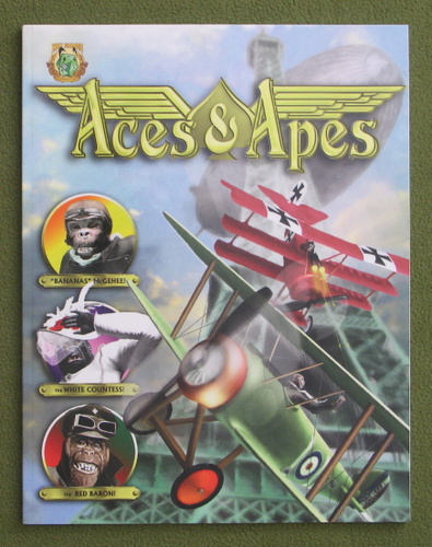 Image for Aces & Apes (QAGS: Quick Ass Game System)