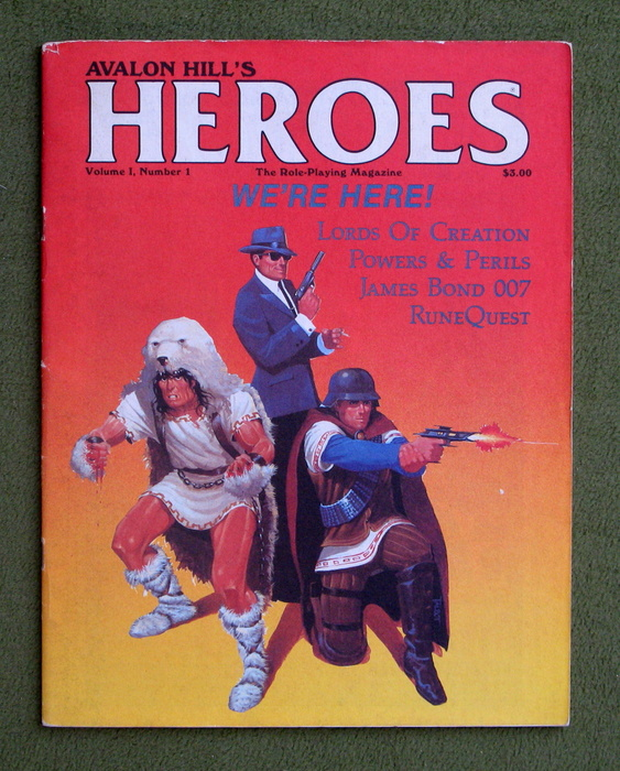 Image for HEROES Role-Playing Magazine: Volume 1, Number 1