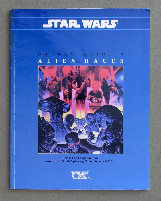 Image for Galaxy Guide 4: Alien Races (Star Wars Roleplaying Game Supplement)