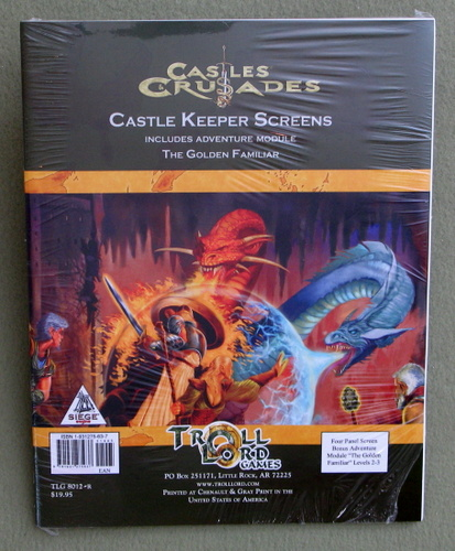 Image for Castles & Crusades: Castle Keeper's Screens