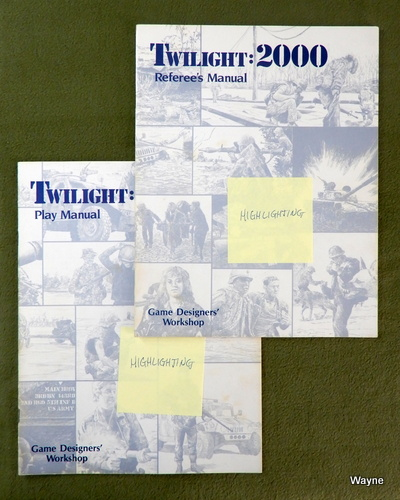 Image for REFEREE'S & PLAY MANUAL: Twilight 2000 - HIGHLIGHTING