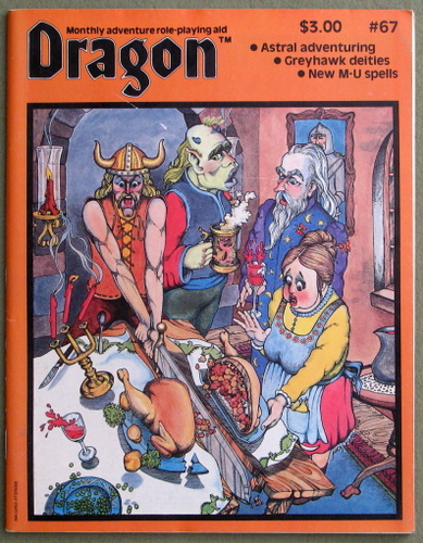 Image for Dragon Magazine, Issue 67