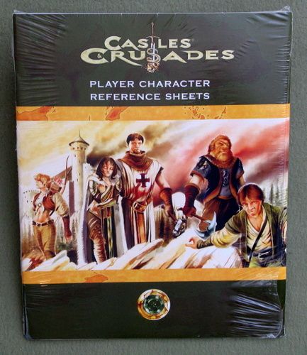 Image for Player Character Reference Sheets (Castles & Crusades)