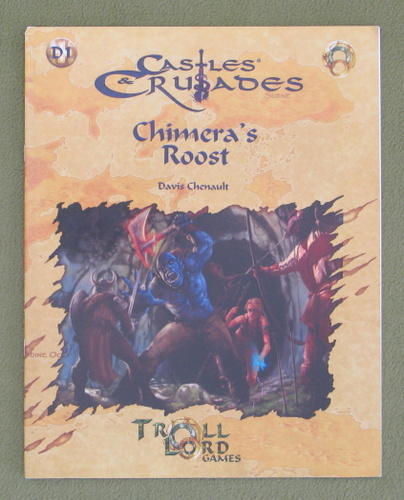 Image for Chimera's Roost (Castles & Crusades D1)