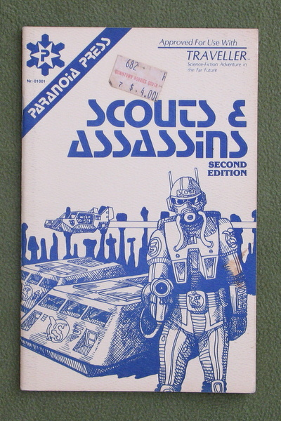 Image for Scouts & Assassins, 2nd Edition (Traveller) - NO MAP