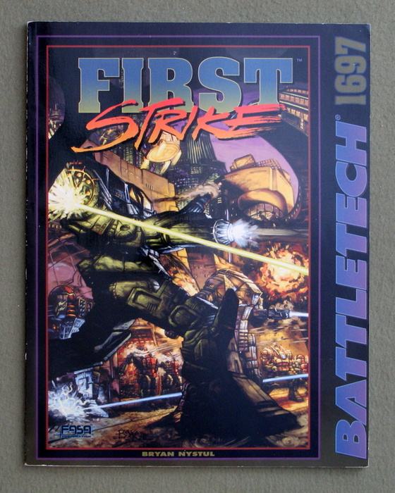 Image for First Strike (Battletech)