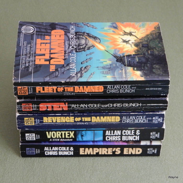Image for Sci-Fi 5 Book Lot: STEN & others