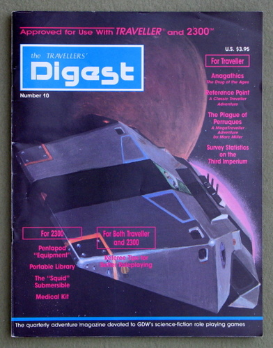 Image for Travellers' Digest, Issue 10 (Traveller/Megatraveller)