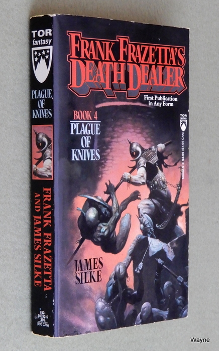 Image for Plague of Knives (Death Dealer, Book 4)