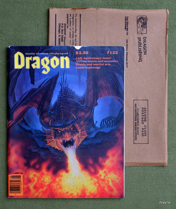 Image for Dragon Magazine, Issue 122