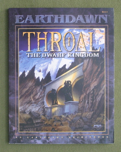 Image for Throal: The Dwarf Kingdom (Earthdawn)