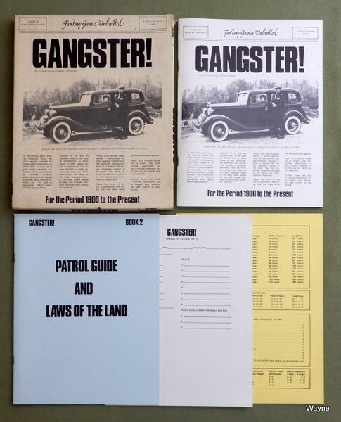 Image for Gangster! - A Game of Crime and Punishment