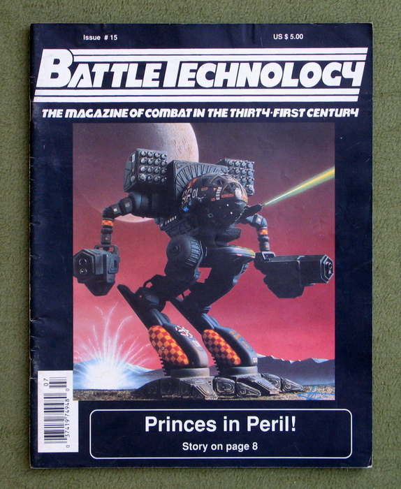Image for BattleTechnology Magazine, Issue 15 (Battletech)