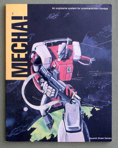 Image for Mecha! - An Explosive System for Science-Fiction Combat
