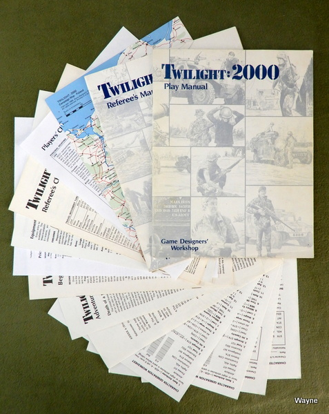 Image for Twilight 2000 (1st edition) - NO BOX
