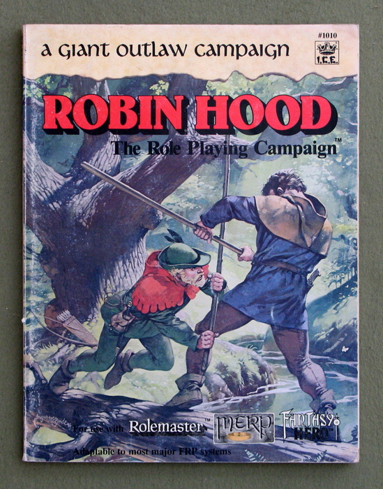 Image for Robin Hood: A Giant Outlaw Campaign (Rolemaster) - PLAY COPY