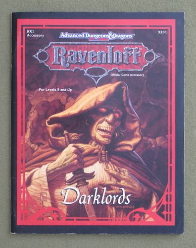 Image for Darklords (Advanced Dungeons & Dragons: Ravenloft RR1)