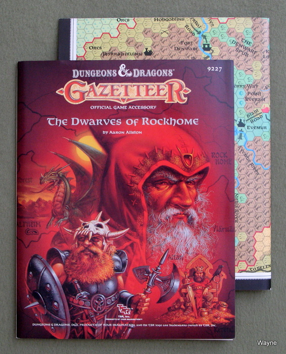 Image for The Dwarves of Rockhome (Dungeons & Dragons Gazetteer GAZ6)