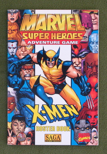 Image for X-Men Roster Book (Marvel Super Heroes Adventure Game)
