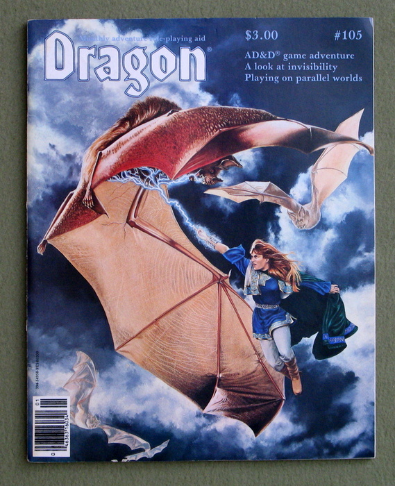 Image for Dragon Magazine, Issue 105