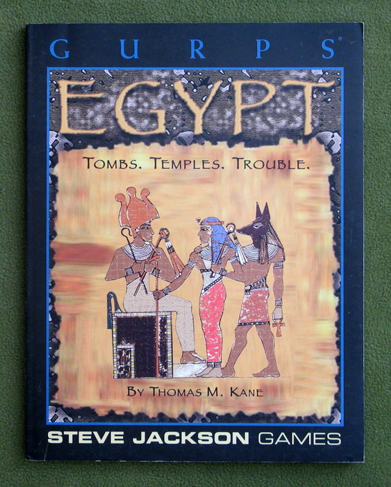 Image for GURPS Egypt: Tombs, Temples, Trouble