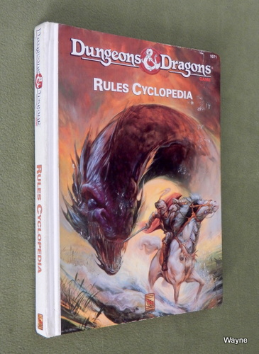 Image for Dungeons and Dragons Rules Cyclopedia - PLAY COPY