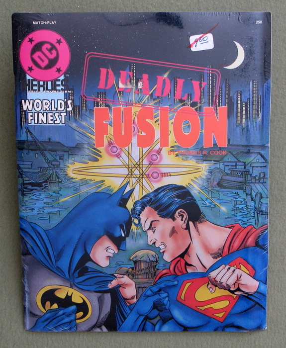 Image for Deadly Fusion (DC Heroes RPG)