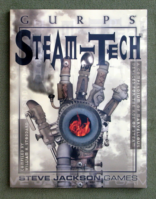 Image for GURPS Steam-Tech: A Compendium of Marvelous Devices for the Age of Steam
