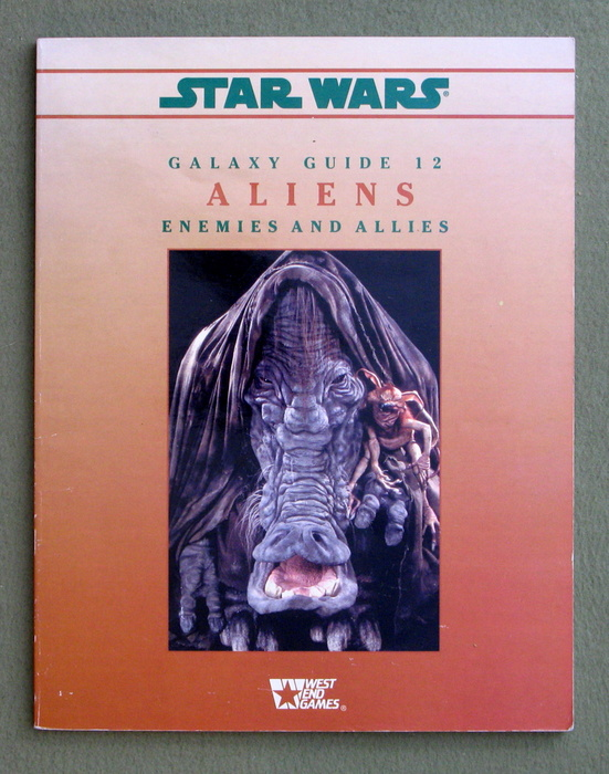Image for Aliens: Enemies and Allies (Star Wars RPG: Galaxy Guide 12)