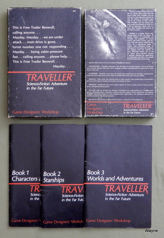 Image for Traveller Books 1-3: Core Rules