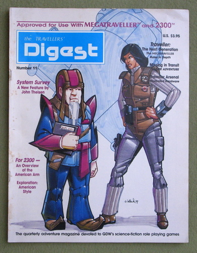 Image for Travellers' Digest, Issue 11 (Traveller RPG)