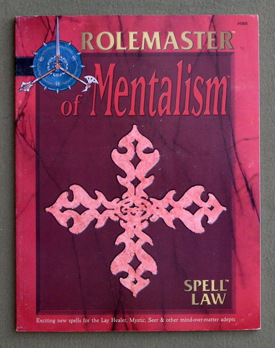 Image for Spell Law: Of Mentalism (Rolemaster)
