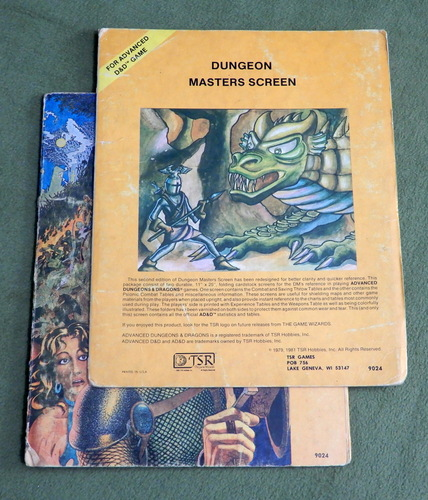 Image for Dungeon Masters Screen (Advanced Dungeons & Dragons, 1st Edition) - PLAY SET