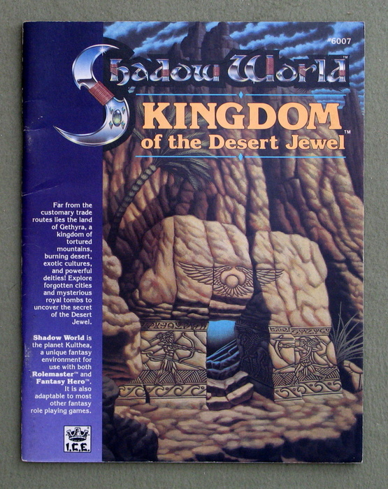 Image for Kingdom of the Desert Jewel (Rolemaster / Shadow World)